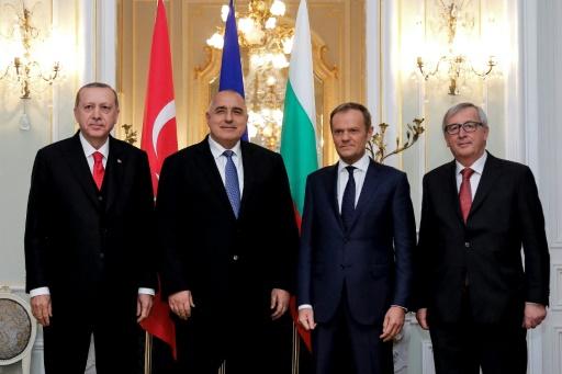 L'UE et la Turquie se parlent, mais sans avancées