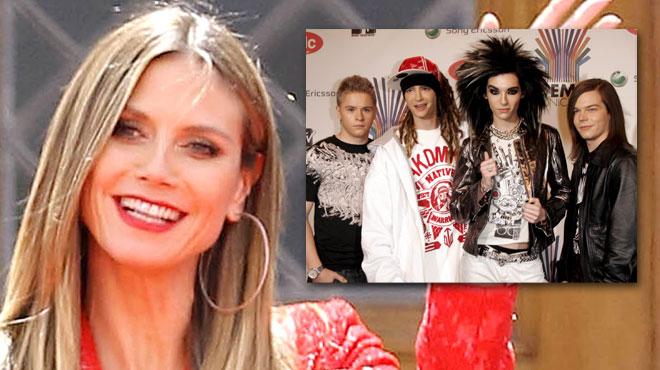 La top model Heidi Klum est en couple avec un membre du groupe Tokio Hotel