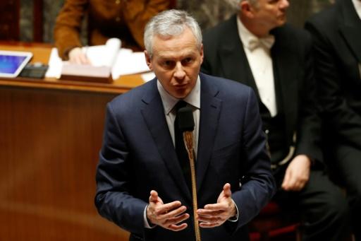 Industrie: Le Maire envisage de nouveaux allègements de la fiscalité