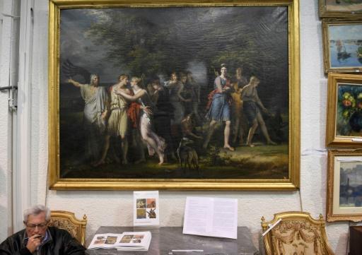 Un tableau de Charles Meynier vendu 2,2 millions d'euros à Nantes