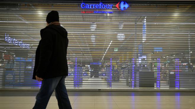 Tous les hypermarchés Carrefour en grève en région liégeoise vendredi et samedi