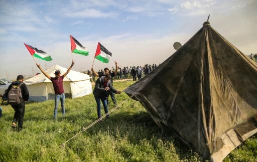 Israël: l'armée a ordre de tirer si les Palestiniens menacent la frontière