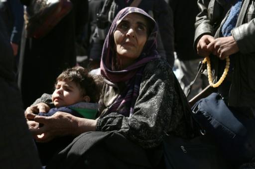 Syrie: des milliers d'évacués de la Ghouta arrivent en territoire rebelle