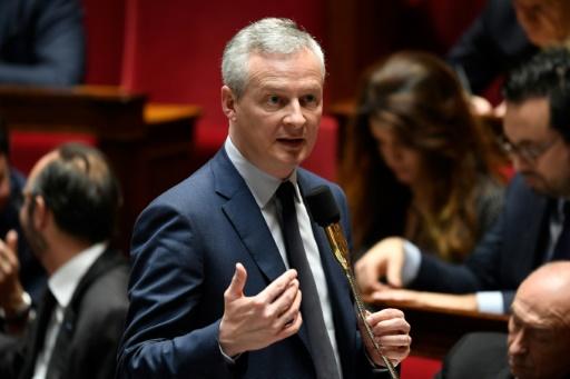 Taxation des GAFA: Le Maire espère une adoption de la directive début 2019