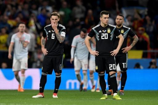 Mondial-2018: la gifle espagnole laisse l'Argentine en plein doute