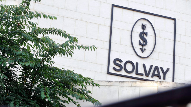 Séisme chez Solvay:  600 emplois supprimés pour