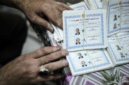 Égypte: Sissi réélu avec plus de 90% des voix, selon les premières estimations