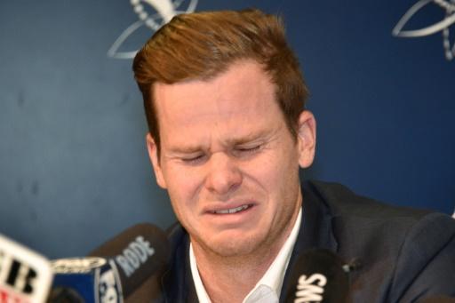 Cricket: en larmes, le capitaine australien assume