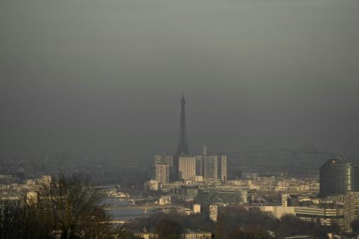 Les normes de pollution de l'air pas respectées en IDF en 2017
