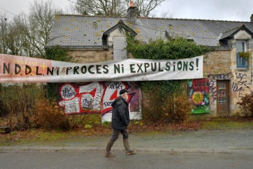 NDDL: menacés d'expulsion, des occupants de la ZAD vont assigner la préfecture