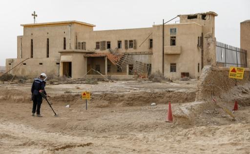 Cisjordanie: 1 million m² accessibles après le déminage d'un site du baptême de Jésus