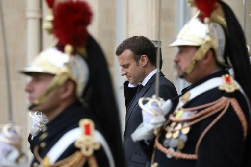 Syrie: Macron a reçu une délégation de la coalition arabo-kurde FDS