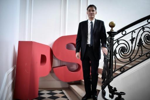 Olivier Faure et les patrons de fédérations PS élus jeudi soir