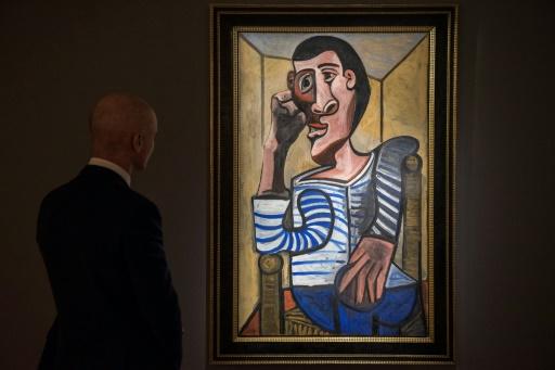Un rare autoportrait de Picasso mis aux enchères