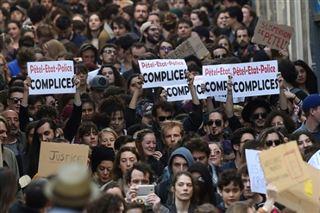 Montpellier- Justice pour la fac de droit réclament des centaines de manifestants