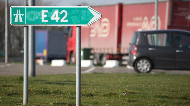 Un gros chantier débute ce samedi: l'E42 fermée à hauteur de La Louvière pendant plusieurs jours
