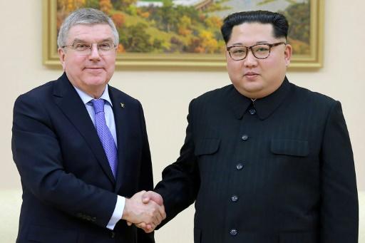 Kim Jong Un assure que la Corée du Nord participera aux JO 2020 et 2022 (président du CIO)