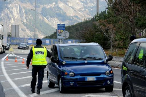 Un contrôle des douanes françaises dans une commune italienne ulcère l'Italie