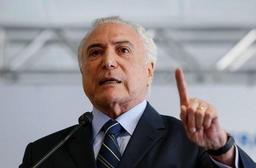 Brésil: soupçonnés de corruption, les proches de Temer remis en liberté