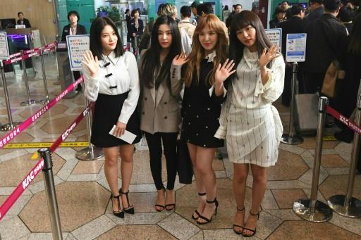 Les stars de la K-pop s'apprêtent à donner un concert historique à Pyongyang