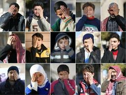 Conflit en Syrie - Le bébé éborgné devenu un symbole sur internet est désormais en Turquie
