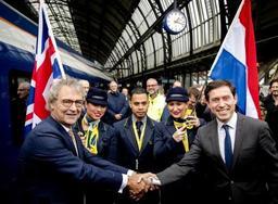 Eurostar lance sa liaison directe Amsterdam-Londres mercredi