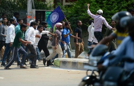 Inde: six morts dans des manifestations de basses castes