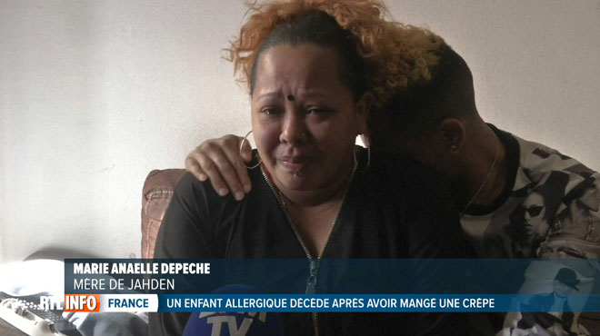 Son enfant allergique décède après avoir mangé une crêpe à l'école: Marie-Anaëlle, la mère de Jadhen, témoigne