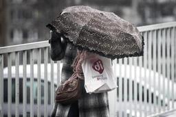 Le parapluie encore de rigueur jusqu'à jeudi