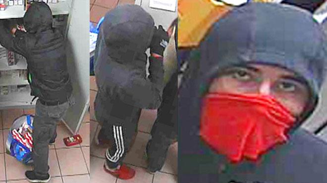 Couteau sous la gorge de l'employée, ils dévalisent une station-service de Burenville à Liège: reconnaissez-vous ces hommes? (Vidéo)