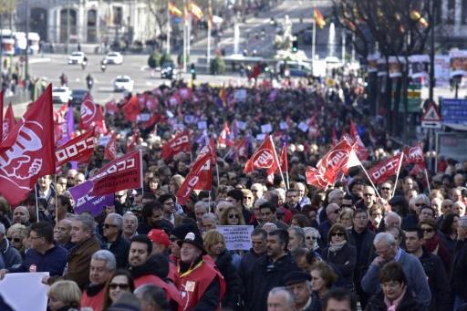 Espagne: le nombre de chômeurs baisse à 3,42 millions