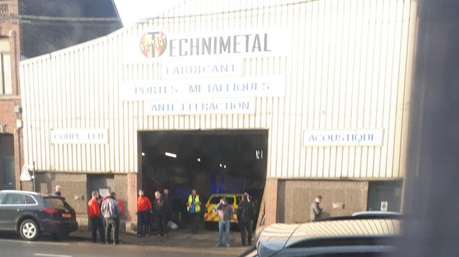 Accident de travail mortel dans l'entreprise Technimetal Protect de Marchienne-au-Pont