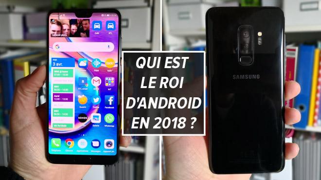 On a réuni les deux meilleurs smartphones Android de l'année: le Huawei P20 Pro dépasse-t-il vraiment le Samsung Galaxy S9+ ? (vidéo)