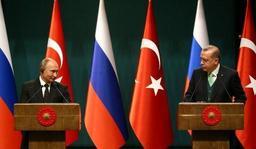Poutine en Turquie pour parler nucléaire et Syrie avec Erdogan