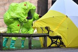 Ex-espion empoisonné : pas de preuve que l'agent innervant provient de Russie, selon un labo britannique