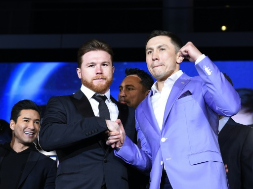 Boxe: le match revanche entre Alvarez et Golovkin annulé