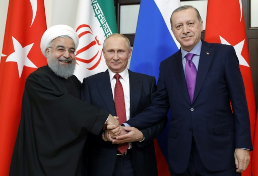 Erdogan accueille Poutine et Rohani pour un sommet sur la Syrie