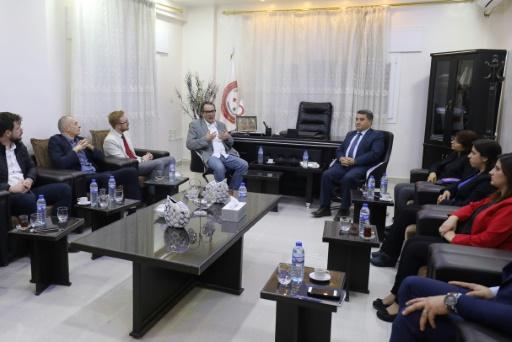 Syrie: des députés britanniques en visite de soutien aux Kurdes