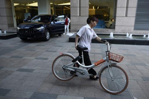 Vélopartage: Mobike, numéro un mondial, valorisé 2,8 milliards d'euros