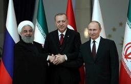 La Turquie, la Russie et l'Iran pour un