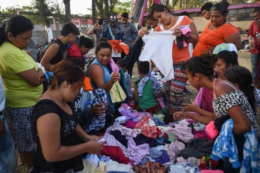 Mexique : la caravane de migrants renonce à rejoindre la frontière avec les Etats-Unis