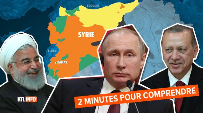 La Russie, la Turquie et l'Iran sont devenus les maîtres de la Syrie: l'Europe et les USA sont hors-jeu