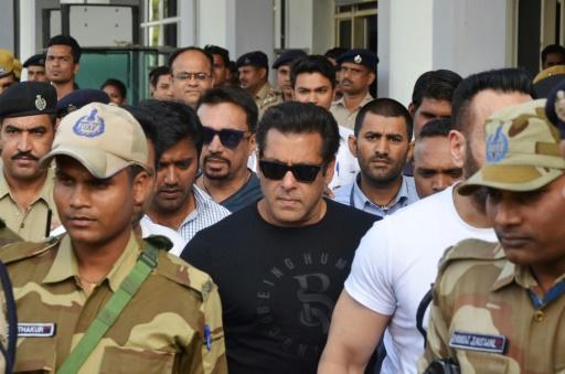 Inde: Salman Khan, superstar de Bollywood, condamné pour braconnage (parquet)