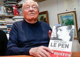 Jean-Marie Le Pen rejoint un parti européen néofasciste