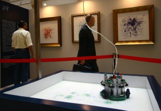Les robots sont-ils des artistes ? Réponse au Grand Palais