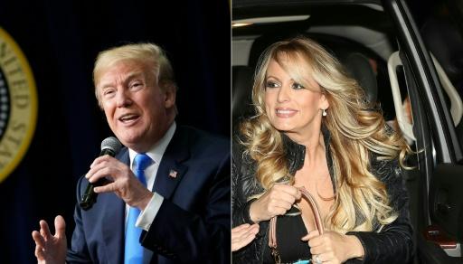 Trump assure qu'il ne savait rien des 130.000 dollars versés à Stormy Daniels