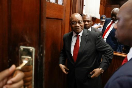Afrique du Sud: l'ex-président Zuma dénonce les accusations