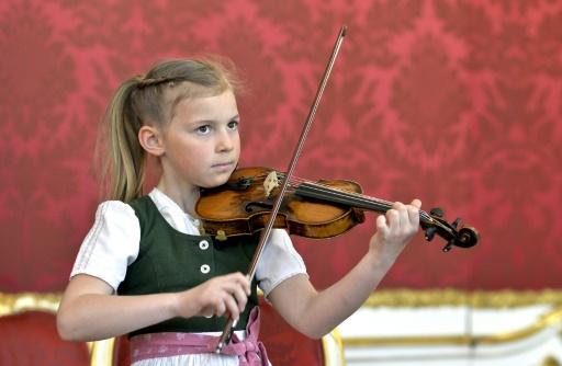 Un violon de Mozart en visite d'État en Chine