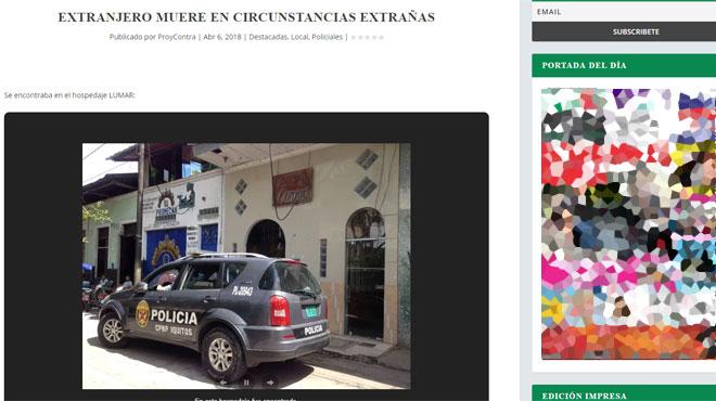 Un Belge de 28 ans retrouvé mort dans des circonstances étranges dans une chambre d'hôtel au Pérou: le personnel l'a entendu crier