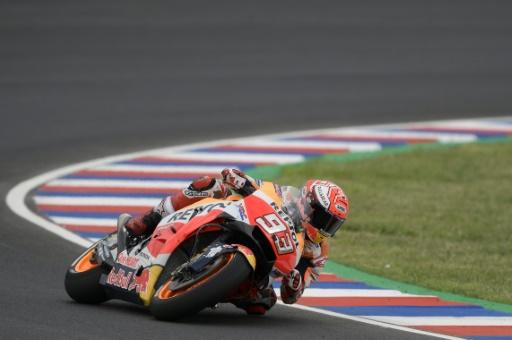 Moto: Marquez le plus rapide des premiers essais libres du GP d'Argentine